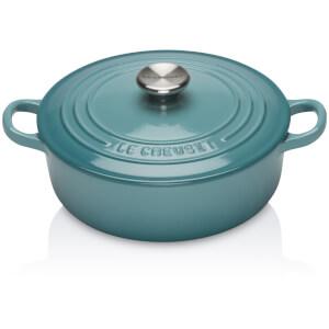 Le Creuset Signature Cast Iron Risotto Pot - 22cm - Teal