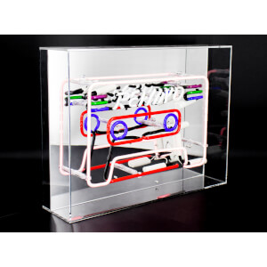 Acryl Neonkassette