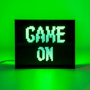 Game On LED Lamp