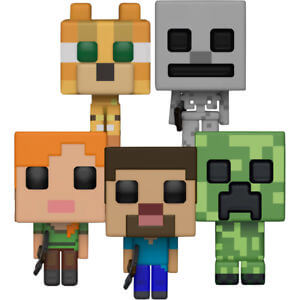 Collection Pop! - Figurines Pops Minecraft