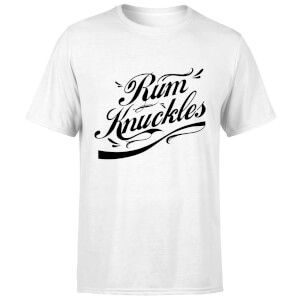 Rum Knuckles Signature T-Shirt - White