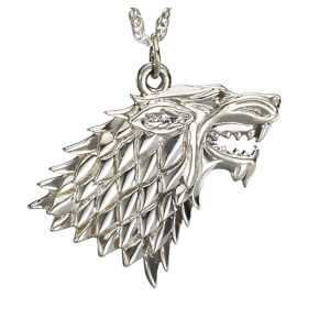Game of Thrones House Stark Sterling Silver Pendant