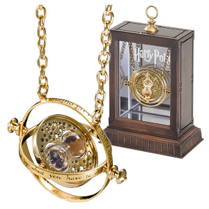 Harry Potter Hermione Granger's 24K Gold Plated Time Turner Replica