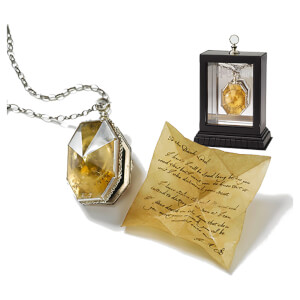 Harry Potter The Locket From the Cave Replica includes RAB's Note