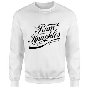 Rum Knuckles Signature Sweatshirt - White