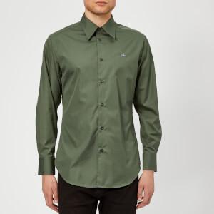 Vivienne Westwood Men's Classic Poplin Shirt - Green