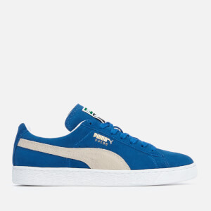 Puma Men's Suede Classic + Trainers - Olympian Blue/White