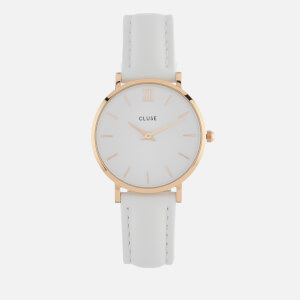 Cluse Women's La Minuit Watch - White