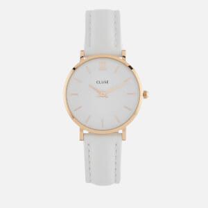 Cluse Women's La Minuit Watch - White