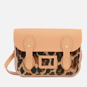 The Cambridge Satchel Company Women's The Tiny Satchel - Honey Matte/Leopard
