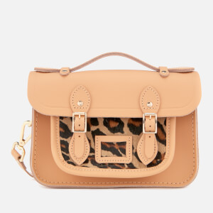 The Cambridge Satchel Company Women's The Mini Satchel - Honey Matte/Leopard