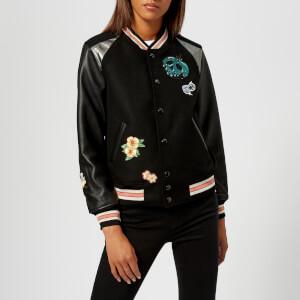 Coach 1941 Women's Disney X Coach Varsity Jacket - Black