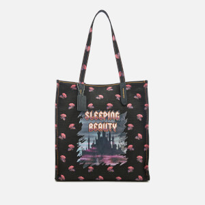 Coach 1941 Women's Disney X Coach Sleeping Beauty Tote Bag - Black