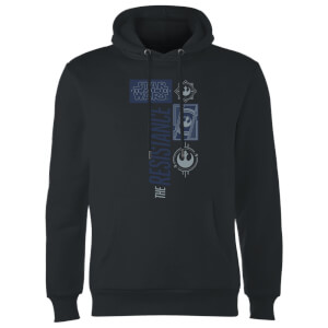 Star Wars The Resistance Black Hoodie - Black