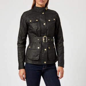 Barbour International Women's International Anglesey Wax Jacket - Black
