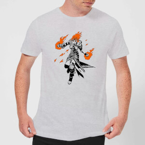 Camiseta Magic The Gathering Chandra - Hombre - Gris