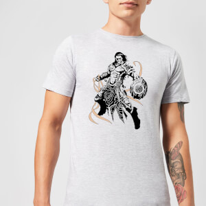 Magic The Gathering Gideon Character Art T-Shirt - Grey