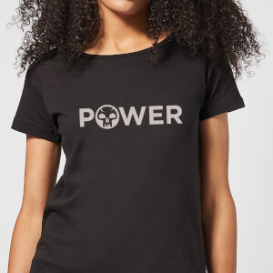 Camiseta Magic The Gathering Power - Mujer - Negro