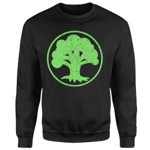 Magic The Gathering Mana Green Sweatshirt - Black