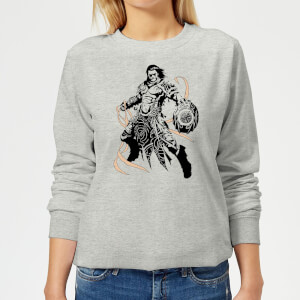 Sweat Femme Gideon Design- Magic : The Gathering - Gris