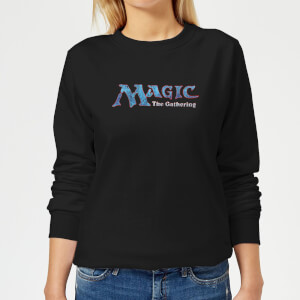 Sweat Femme Logo Vintage 93 - Magic : The Gathering - Noir