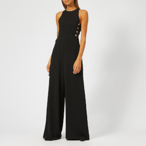 Zimmermann Women's Laced Jumpsuit - Black