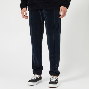 Champion Men's Velour Track Pants - Navy