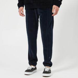 Champion Men's Velour Track Pants - Navy