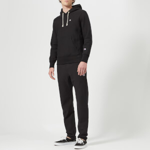 Champion Men's Hooded Sweatshirt - Black: Image 3