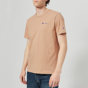 Champion Men's Short Sleeve T-Shirt - Camel