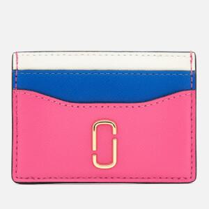 Marc Jacobs Women's Snapshot Card Case - Vivid Pink