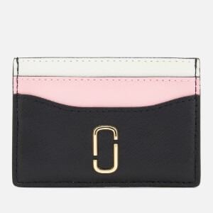 Marc Jacobs Women's Snapshot Card Case - Black/Baby Pink