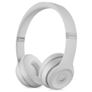 Beats by Dr. Dre Solo3 Wireless Bluetooth On-Ear Headphones - Matte Silver
