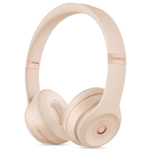 Beats by Dr. Dre Solo3 Wireless Bluetooth On-Ear Headphones - Matte Gold