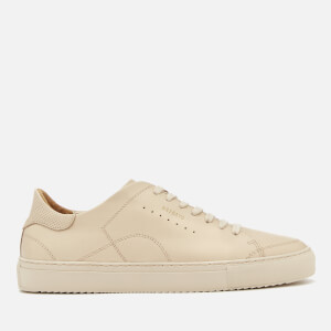 Axel Arigato Men's Detailed Clean 90 Leather Trainers - Beige