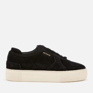 Axel Arigato Women's Platform Leather Trainers - Black