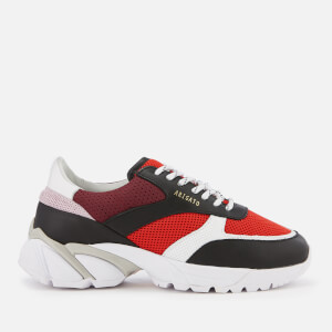 Axel Arigato Women's Tech Runner Trainers - White/Red/Black