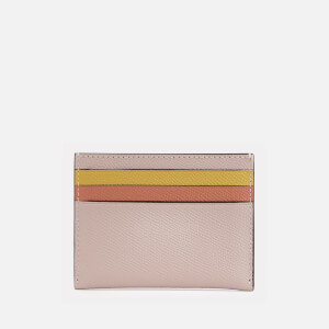 Coach Women's Flat Card Case - Ice Pink Multi: Image 2