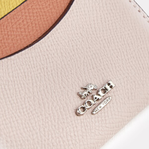 Coach Women's Flat Card Case - Ice Pink Multi: Image 3