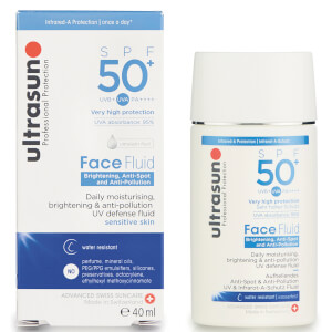 Fluide antipollution Visage SPF 50+ Ultrasun 40 ml