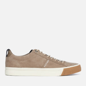 Tommy Hilfiger Men's Nubuck Derby Trainers - Taupe Grey