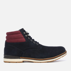 Tommy Hilfiger Men's Outdoor Suede Boots - Midnight