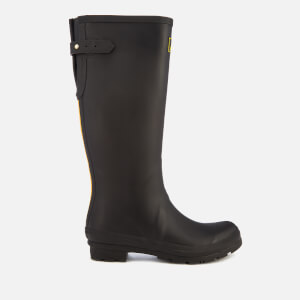 Joules Women's Field Back Adjustable Tall Wellies - Black: Image 1
