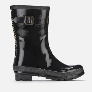 Joules Women's Kelly Gloss Mid Height Wellies - Black