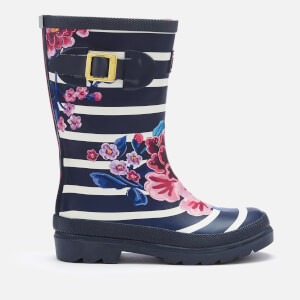 Joules Kids' Printed Wellies - Chinoise Stripe