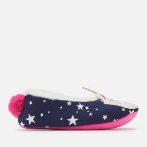 Joules Kids' Character Dreama Slippers - Unicorn