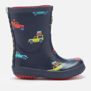 Joules Toddlers' Printed Wellies - Navy Scout and About
