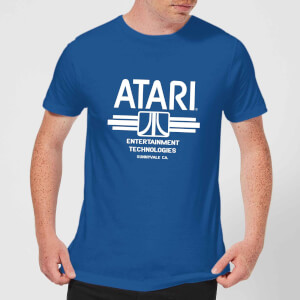 Atari Ent Tech Men's T-Shirt - Royal Blue
