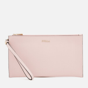 Furla Women's Babylon Extra Large Envelope Clutch Bag - Blush