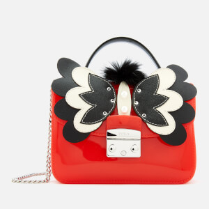 Furla Women's Candy Melita Meringa Mini Cross Body Bag - Red/Black